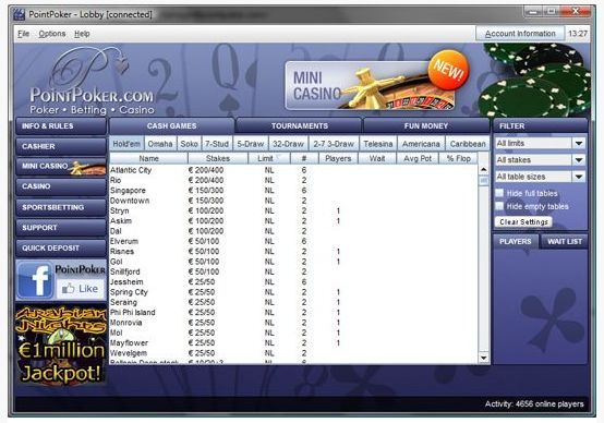 PointPoker is operated by IGT Interactive Operation Ltd with a license granted by the Lotteries and Gaming Authority Malta. They are part of a network which puts players in a position to play with others within the network.  www.latestpokerbonuses.com/poker-rooms/point-poker/