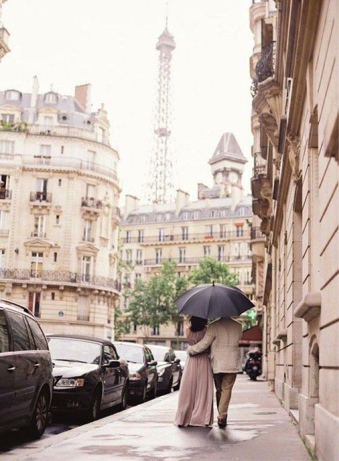 inspiration | walks in paris | via: lauren conrad
