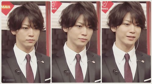 Kame's new hair for Joker Game..