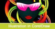 Abstract Illustration in CorelDraw
