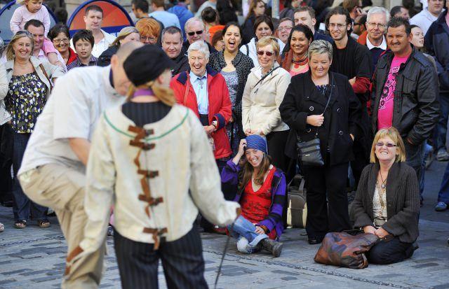 The Edinburgh Fringe Festival.