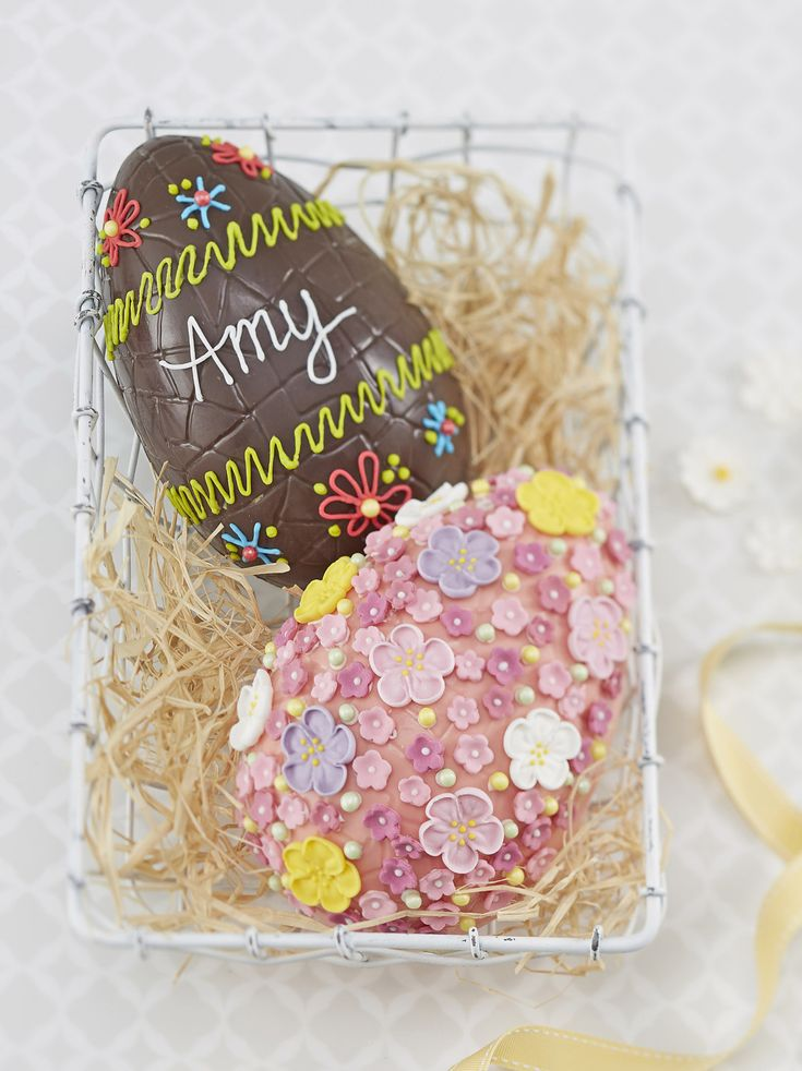 Chocolate eggs have become synonymous with Easter, available in all shapes, sizes and flavour combinations. Well now you can make your own with this how to and a very handy egg mould.
