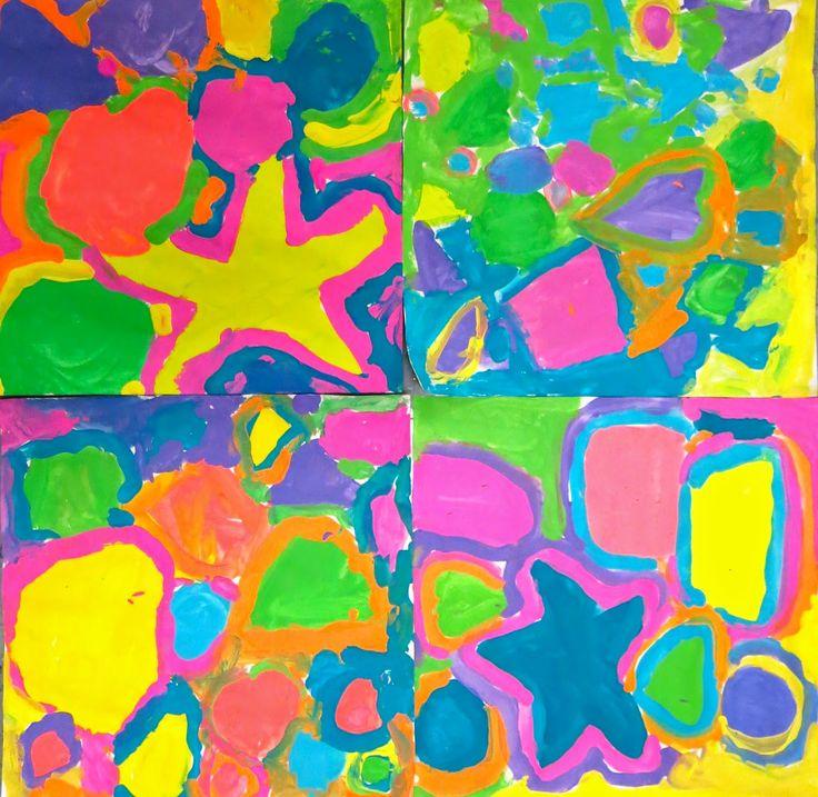 K & 1st grade (shape) Cassie Stephens: In the Art Room: A Unit on Shape for Kindergarten, Part 1