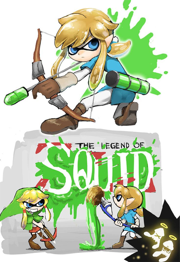 Splatoon Link Cosplay By Nyagiratwist Splatoon Pinterest Zelda Crossover And To Be