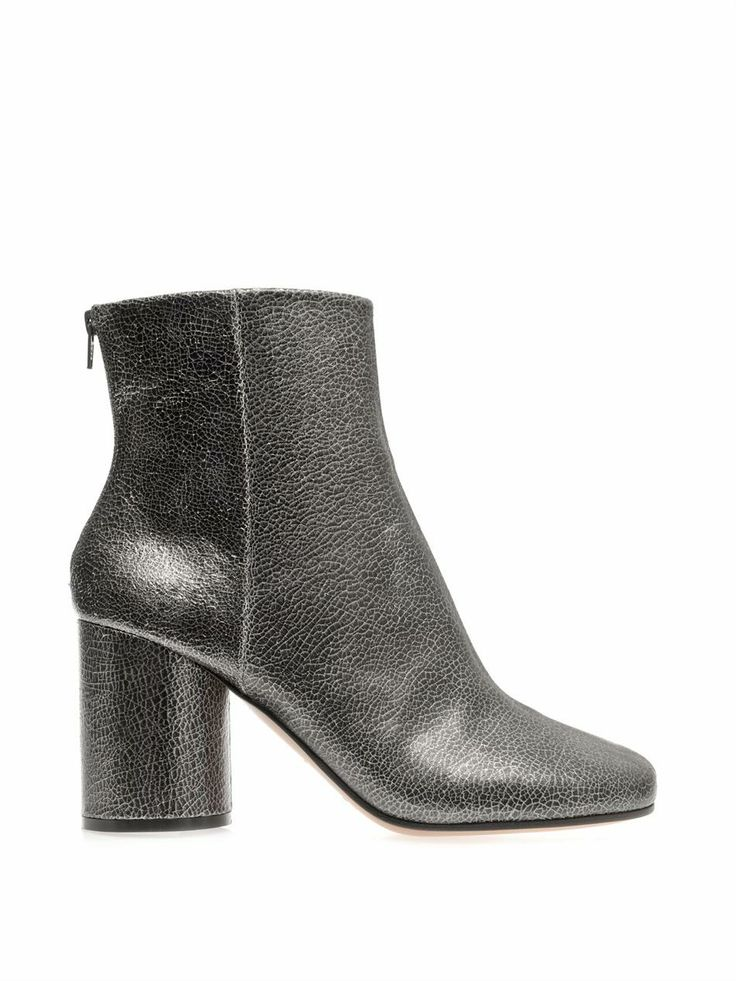 Cracked-leather ankle boots | Maison Martin Margiela | MATCHES...