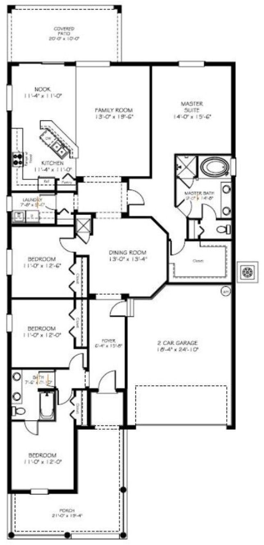 Rialto Floor Plan In Independence Winter Garden FL