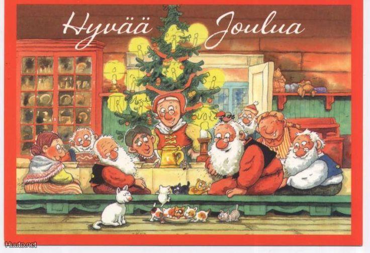 Merry Christmas Mauri Kunnas, Finland
