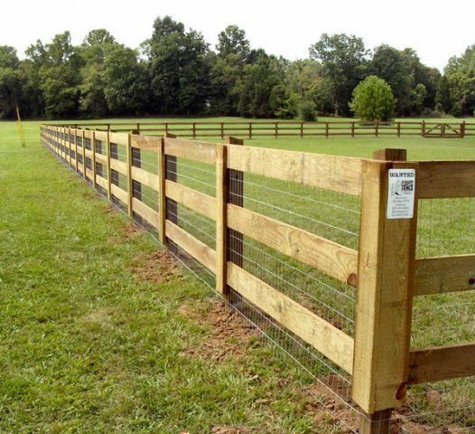 Post and Rail Fence - Bing Images