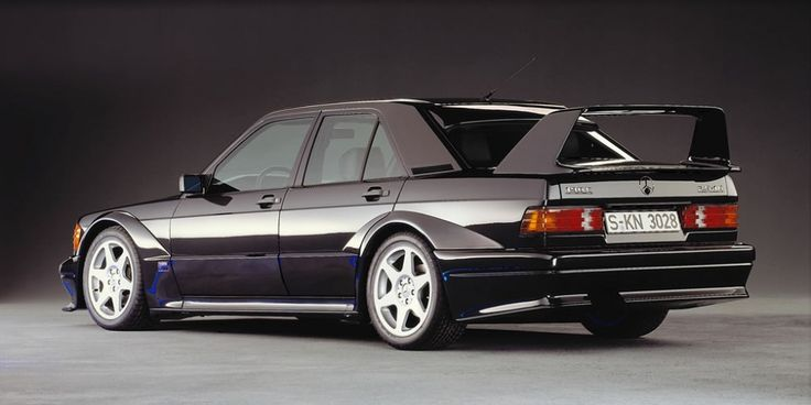 Mercedes-Benz 190 E 2.5-16 Evolution (W 201), 1989