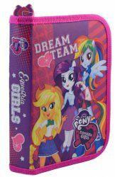 Piórnik dwuklapkowy MLP Equestria Girls