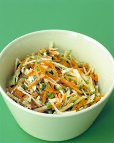 Carrot-Cumin Slaw-Use much less oil and a bit more cumin and lime juice