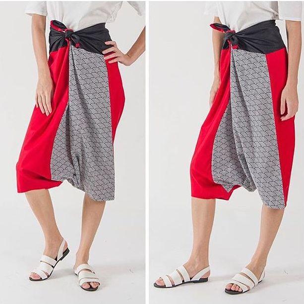 Pants. Batik & cotton. By @beatriceclothing (IG)