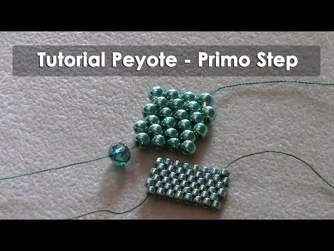 Curso Abalorios - Tecnicas con Miyuki ( Peyote Par ) - 1º parte - YouTube