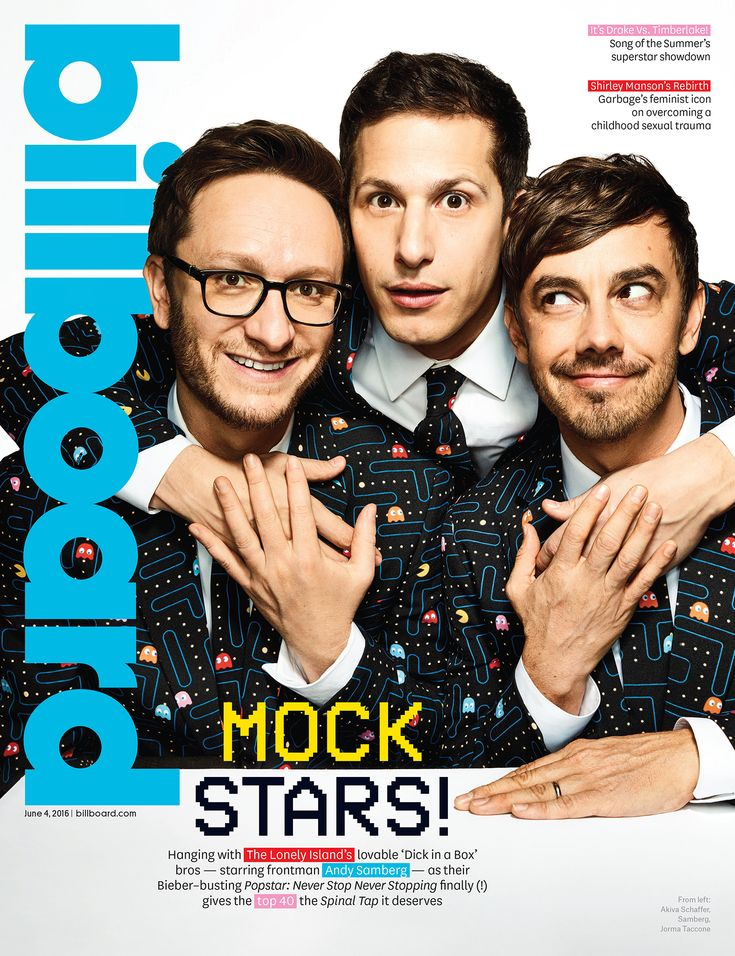 The Lonely Island and Andy Samberg on Their 'Popstar' Movie, Friendship and Kanye West | Billboard's 5/26/16 Cover