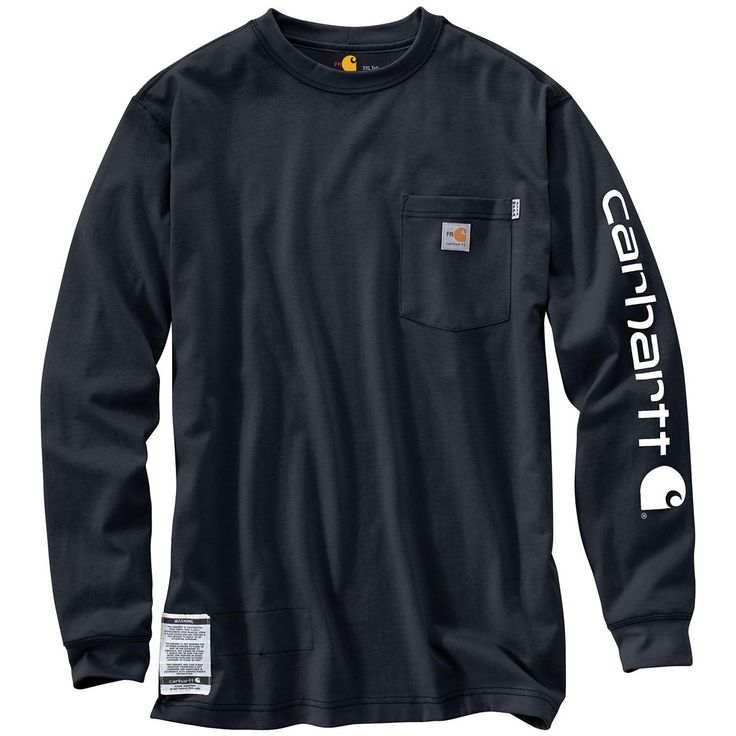 Carhartt® Flame Resistant Force Graphic Long-sleeved T-shirt