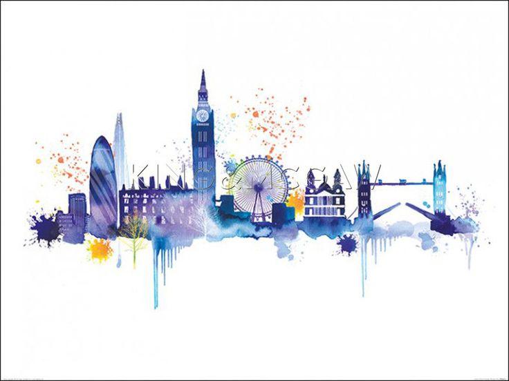 London Skyline | Art2Order | Next.co.uk