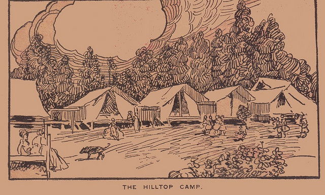 1000+ images about Vintage Camping Illustrations on ...