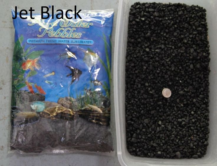 Jet Black - 5 lbs Aquarium Fish Tank Gravel, Pure Water Pebbles color rocks | eBay
