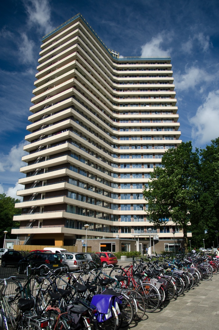 Student flat Bornsesteeg in #Wageningen.  In Wageningen there are several student houses for Dutch and international students.
