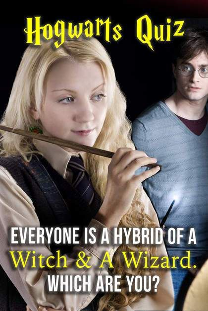Hogwarts Quiz: Everyone Is A Hybrid Of A Witch & A Wizard