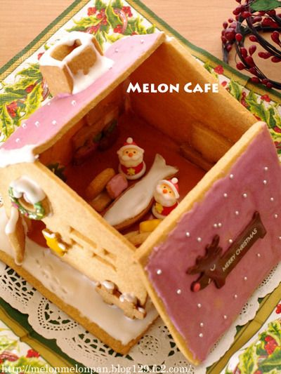 Hekusen House candy house (interior pat) ☆ windows and furniture with Santa Doll House 2013 Christmas