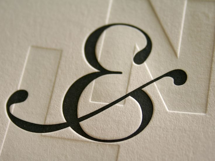 Wedding Invite by Ned Wright & Laura Belle via Type for Now