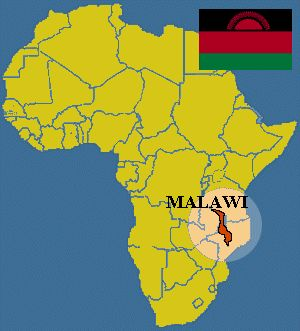 On the map - the equator crosses Malawi. It is the northern part that I love most. It is only about 55 miles at the widest place and perhaps 370 miles in length.