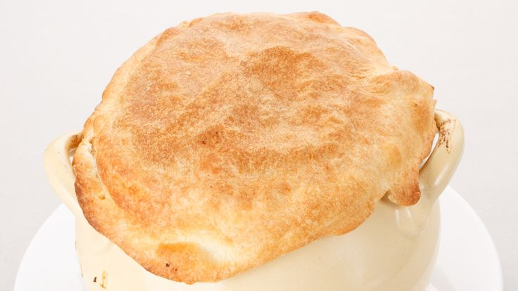 Chicken Pot Pie with Herbed Biscuit Crust