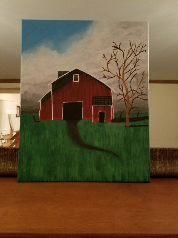 Rustic Canvas Painting