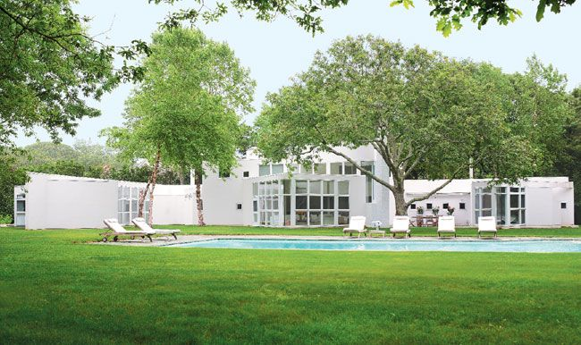 A Richard Meier design gets two expansions from Stamberg Aferiat + Associates - Hamptons Cottages & Gardens - August 15 2013 - Hamptons