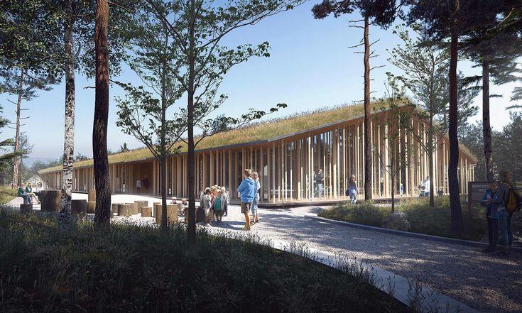 Norsko postaví Muzeum Lesních Finů podle návrhu česko-švédského ateliéru