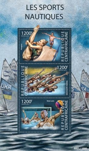 CA15322a Water sports (Diving, Synchronized Swimming, Water Polo)