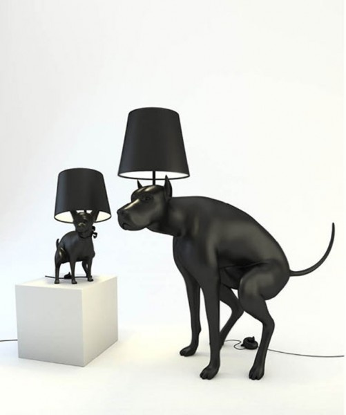 Ordinaire Pooping Dog Lamps   Good Boy And Good Puppy Are Two, Pooping Dog, Floor  Lamps Designed By Whatshisname. To Turn The Lamps On Or Off, One Must Step  On A Fake ...