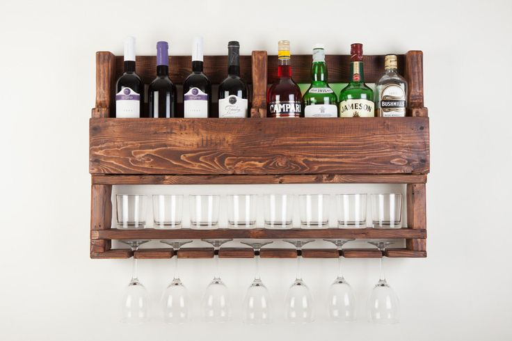 This wine rack from reclaimed wood is a perfect gift for men, birthday gift or a housewarming gift. It would look amazing in a cigar bar or next to your alcohol collection at home or office.  If you are a wine and whiskey lover, this is the perfect match for you!  This is another fabulous creative addition of Apt8 Ecodesign! has eight bottle, 7 glass and low balls wine rack is made from reclaimed pallets. This is a fabulous way to display your love for wine.  We are happy to take custom…