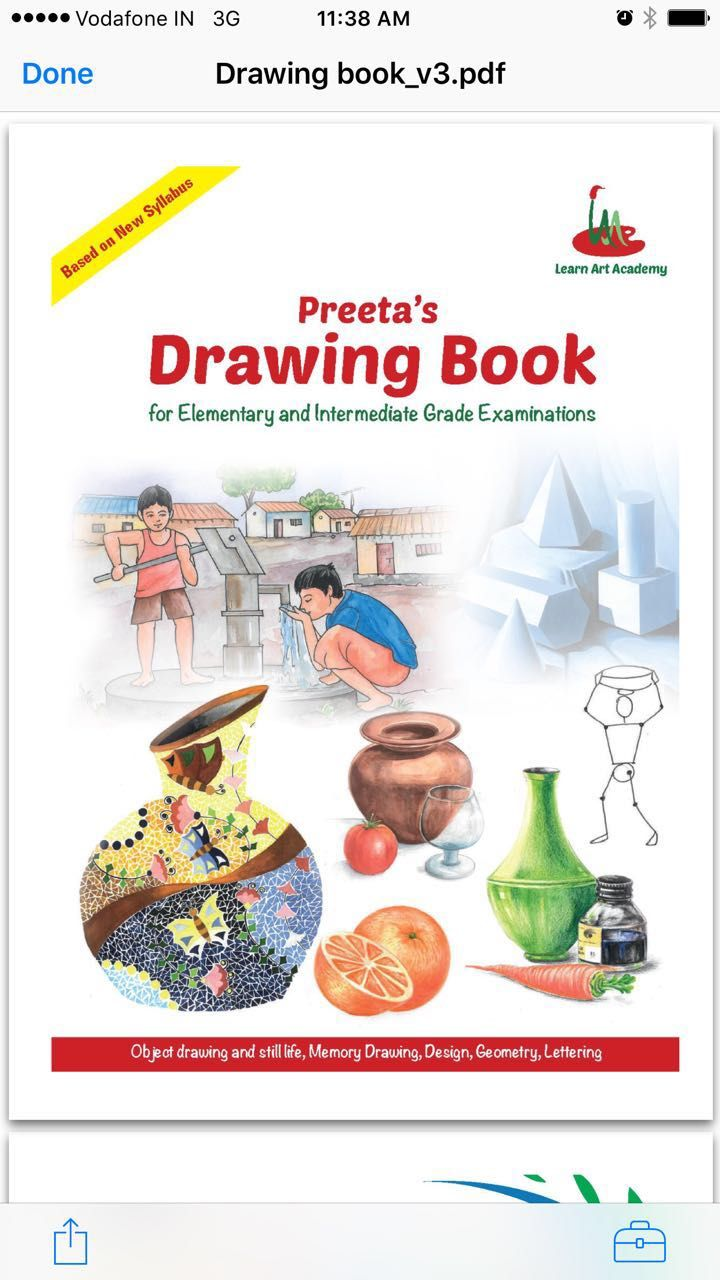 COVER PHOTO of preeta's drawing book