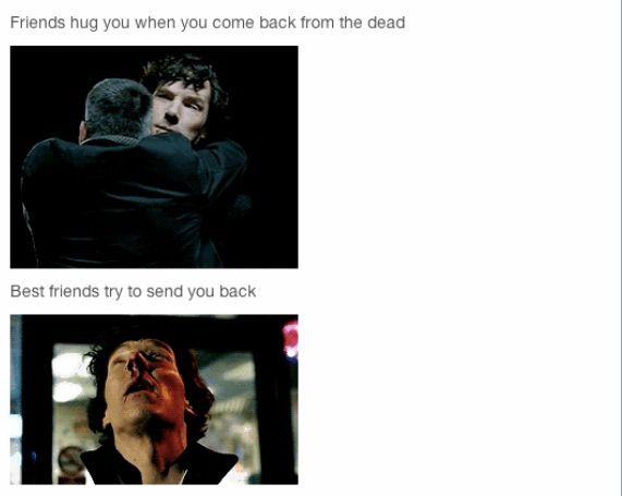 Sherlock the empty hearse. I love this it's so true lol