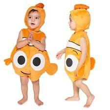 Disney Baby Bambini New Alla Ricerca Di Nemo Tabard Bambini Costume