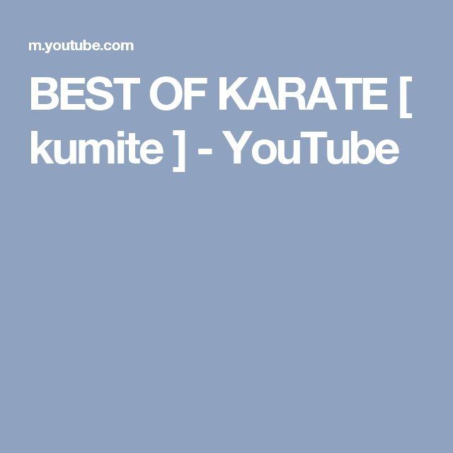 BEST OF KARATE [ kumite ] - YouTube