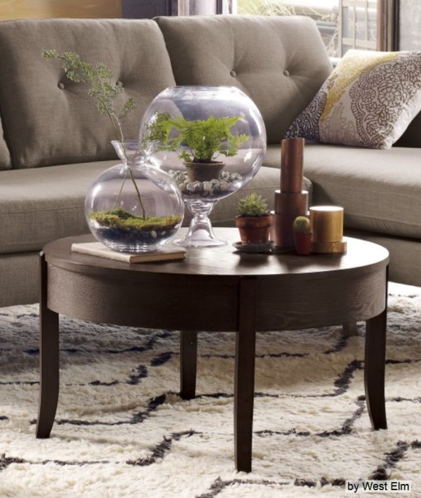 Trendy Home Accessories: The Terrarium. Going green, eco-friendly and natural inspired home accessories and decor are all the rage in interior design today.