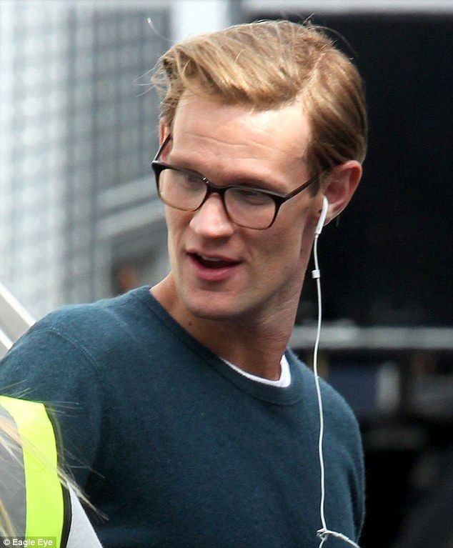 Matt Smith has become a blonde for the upcoming Netflix series The Crown.