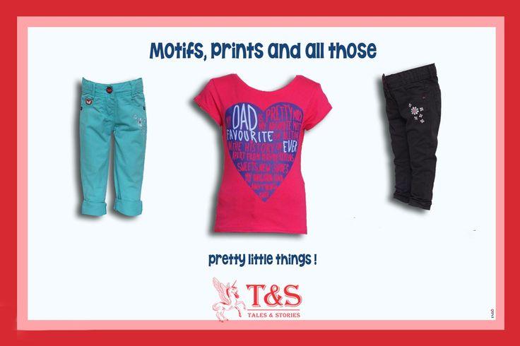 Cute Prints for Cute Ones!  #kidswear #talesandstories