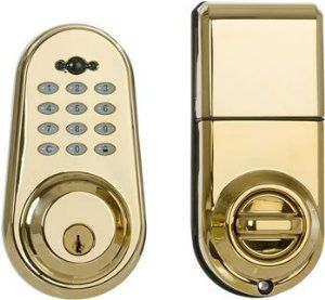 Keyless Entry Polished Brass And Types Of On Pinterest