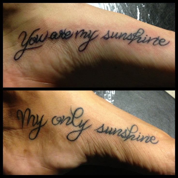 Cute Mother Daughter Affectionate Tattoos: ! So Cute! #mother #daughter #tattoos #freehand