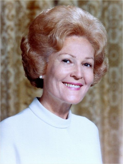 "Thelma Catherine ""Pat"" Ryan Nixon was the wife of Richard Nixon, 37th President of the United States, and thus Former First Lady of the United States from 1969 to 1974. Born: March 16, 1912, Ely, Nevada. Died: June 22, 1993, Park Ridge, NJ.  Spouse: Richard Nixon (m. 1940–1993). Children: Julie Nixon Eisenhower, Tricia Nixon Cox."