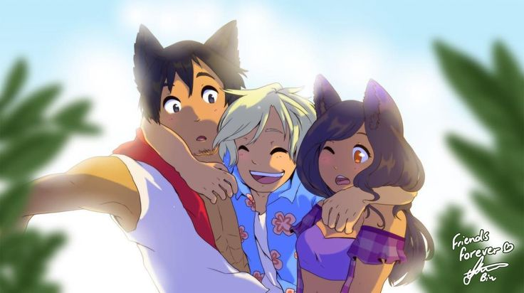 """""""Love you guys. Friends forever."""" #aphmau"""
