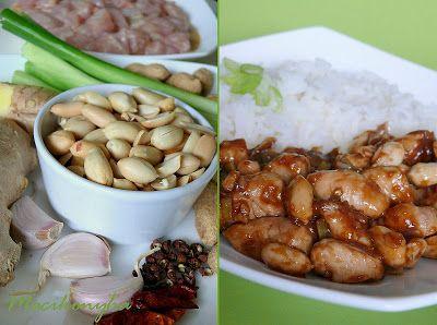 "Macikonyha: Kínai mogyorós csirke - ""Gongbao jiding"""