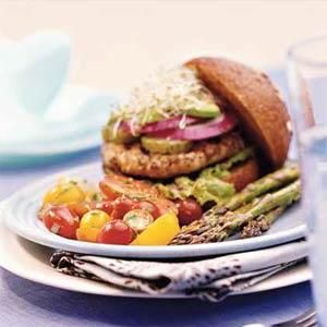 California Burgers Recipe   MyRecipes.com