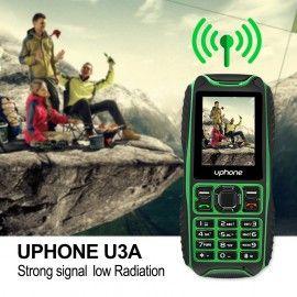 UPhone U3A IP68 Rugged Cell Phone Dual SIM Waterproof Shock&Dustproof