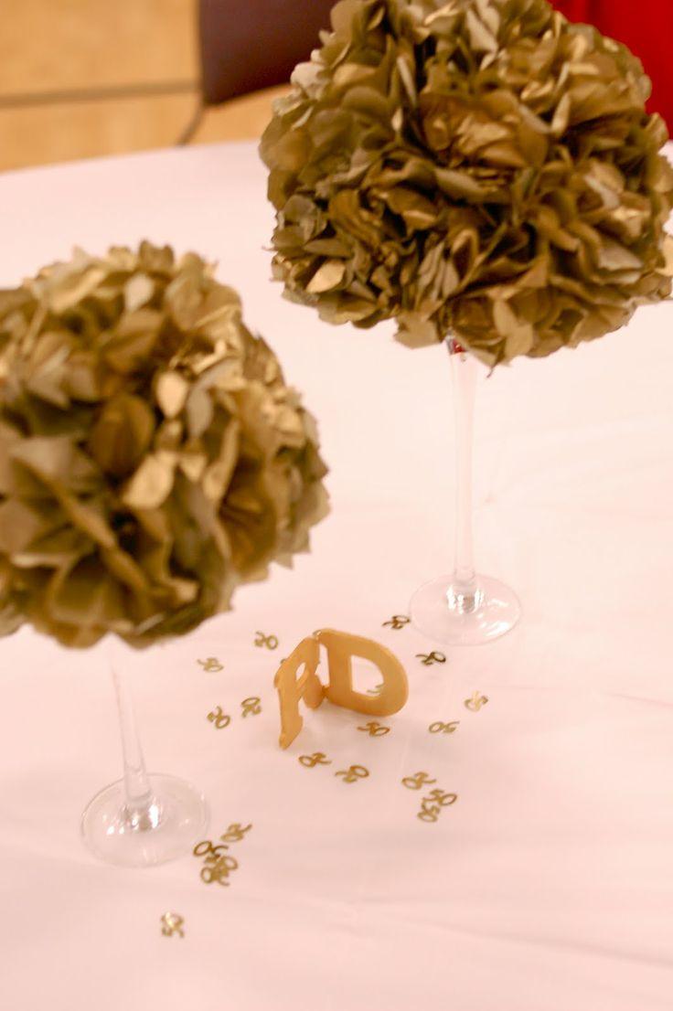 Decoration ideas for 50th wedding anniversary celebration  Lynnette Bryant lynnettebryant on Pinterest