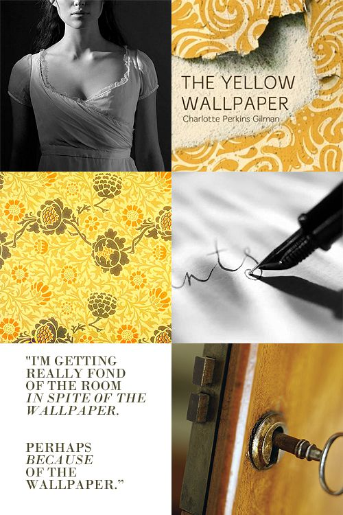 121 best images about the yellow wallpaper on pinterest